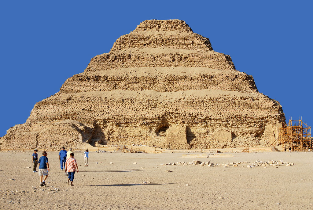 The Step Pyramid of Djoser is the Highlight of a Saqqara Visit