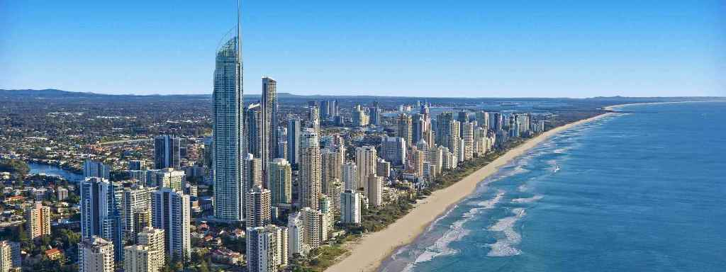 Gold coast view